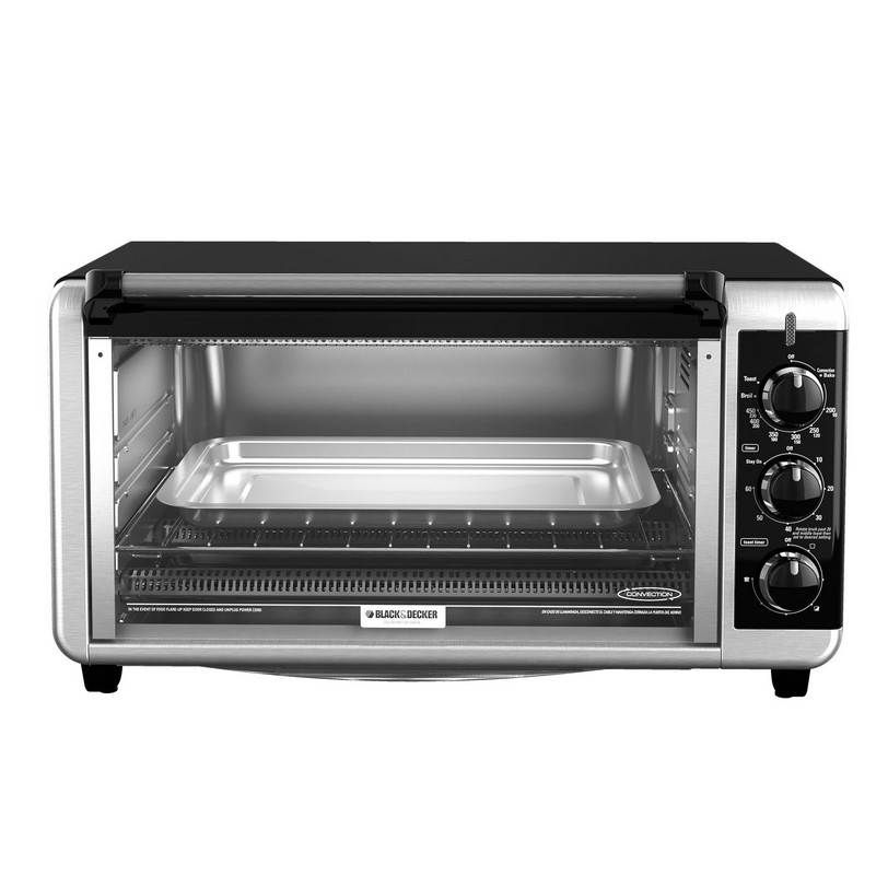 Black And Decker Countertop Oven 12 Inch Pizza Capacity Toaster