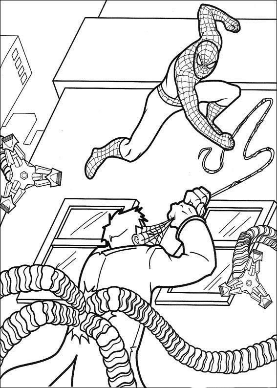 spiderman 42 ausmalbilder für kinder malvorlagen zum