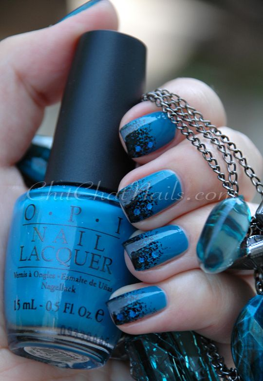 OPI Suzi Loves Feng Shui; the tips stamped with Bundle Monster plate ...