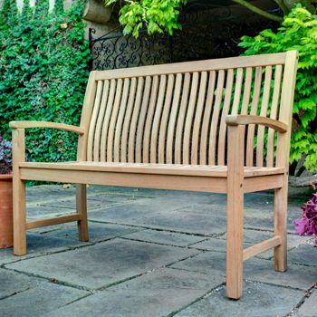 hartman coast 3 seat bench 003 garden furniture 4u garden furniture - Garden Furniture 4 U