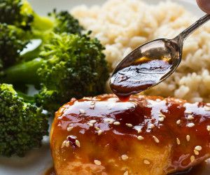 Gluten Free Sesame Chicken with Honey {paleo option}