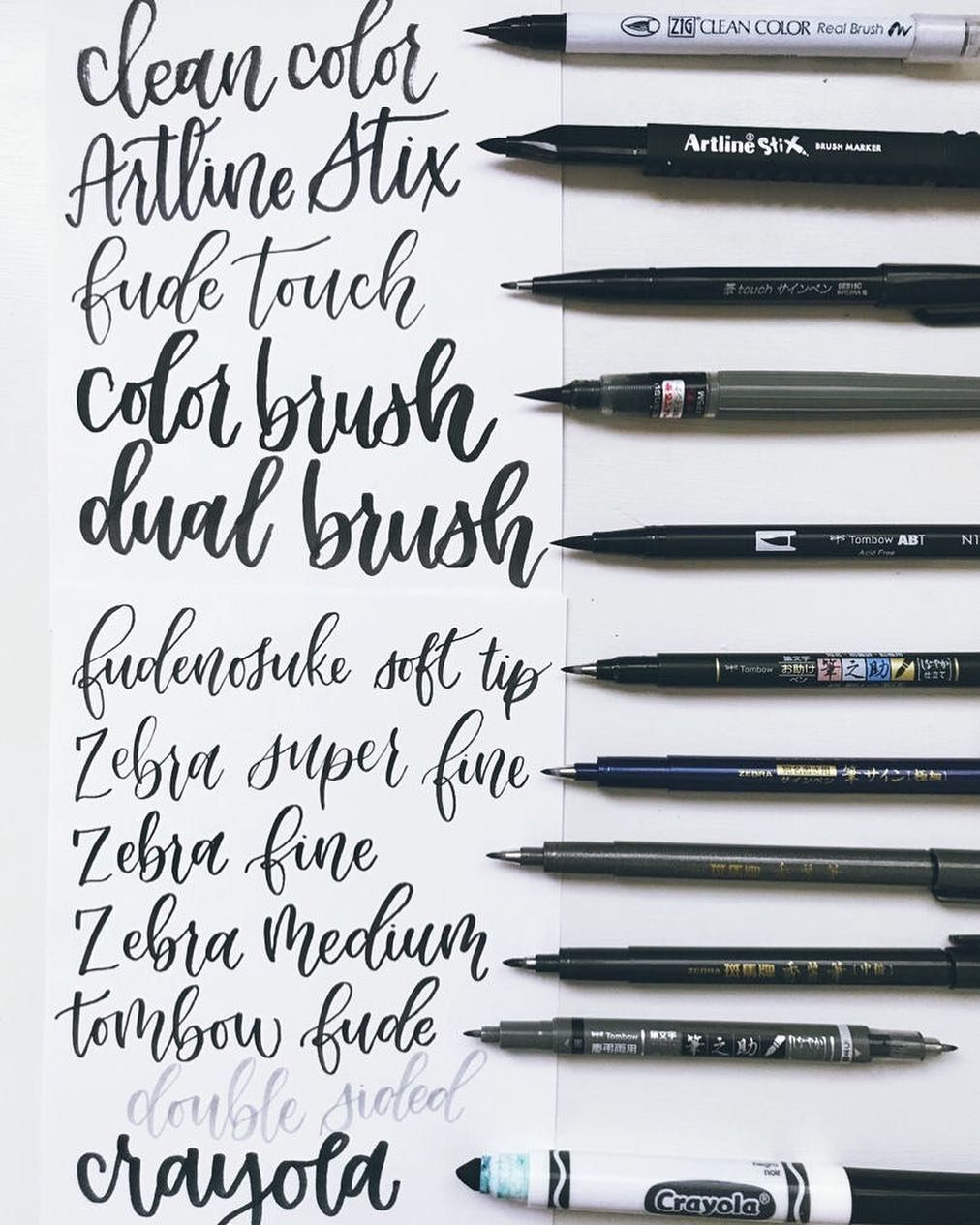 Eleven Pens Eleven Styles One Question Which One Is Your