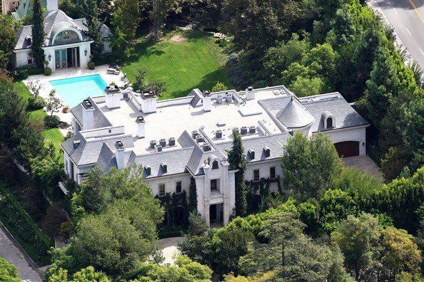 100 N Carolwood Drive Los Angeles California Beverly Hills Houses Beverly Hills Mansion Mansions