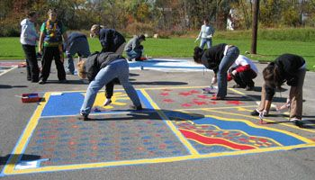 How To Paint Asphalt Games | KaBOOM! | Kid Activities