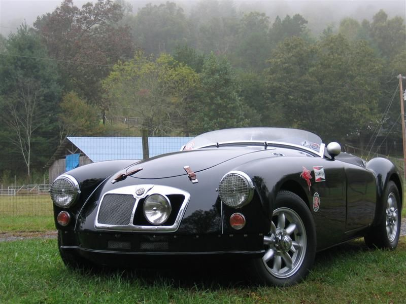 mga - subtle tweaks ~ Lamp in grille and low windscreen. bumperless ...