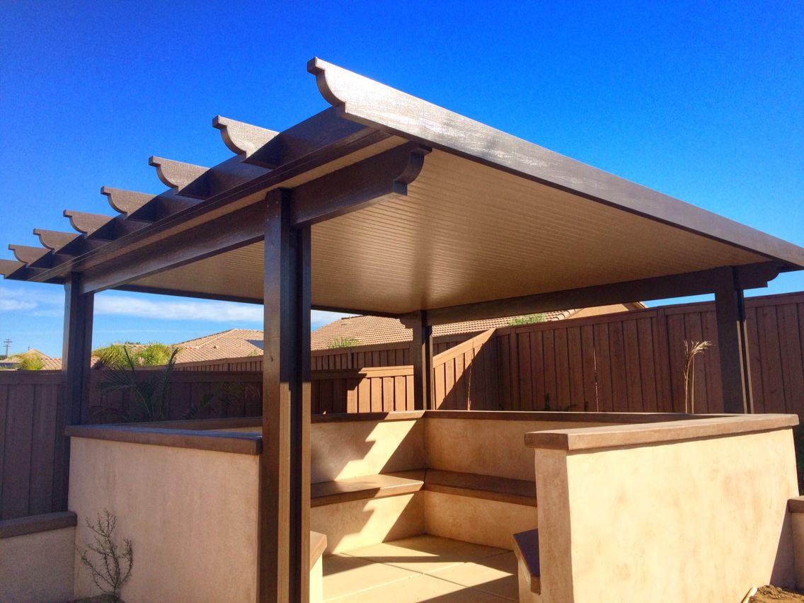 Alumawood diy patio cover home backyard garden creating a