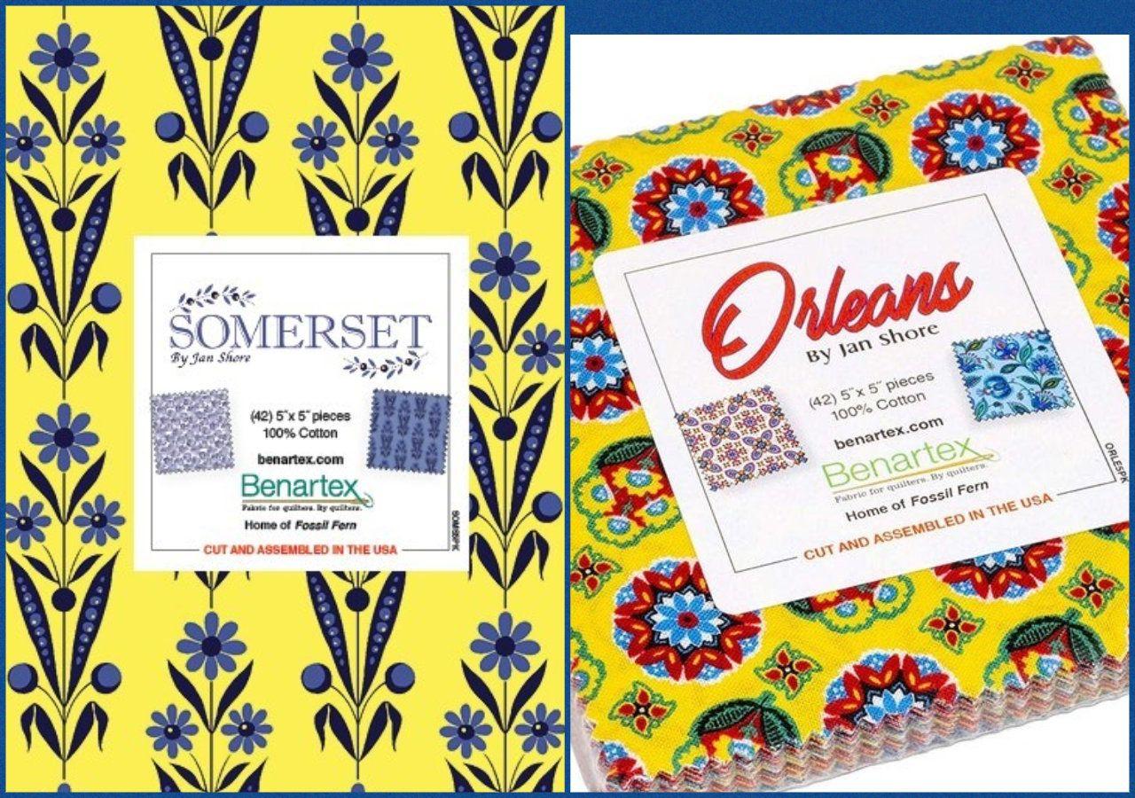 Charm Pack Somerset Or Orleans U Pick 5 Inch Squares 42 Squares 100 Qsq Cotton Benartex In 2020 Pinwheels Somerset Charm Pack