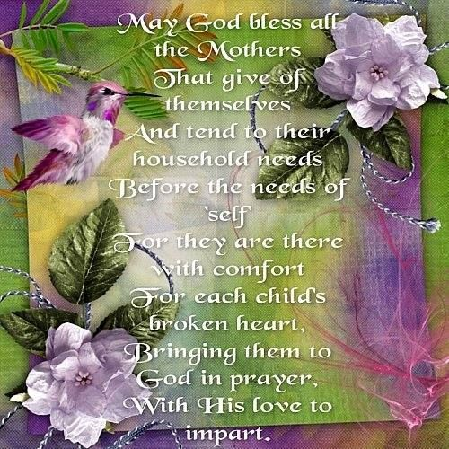 Happy Mother S Day Religious Quotes: HAPPY MOTHER'S DAY LADIES !!