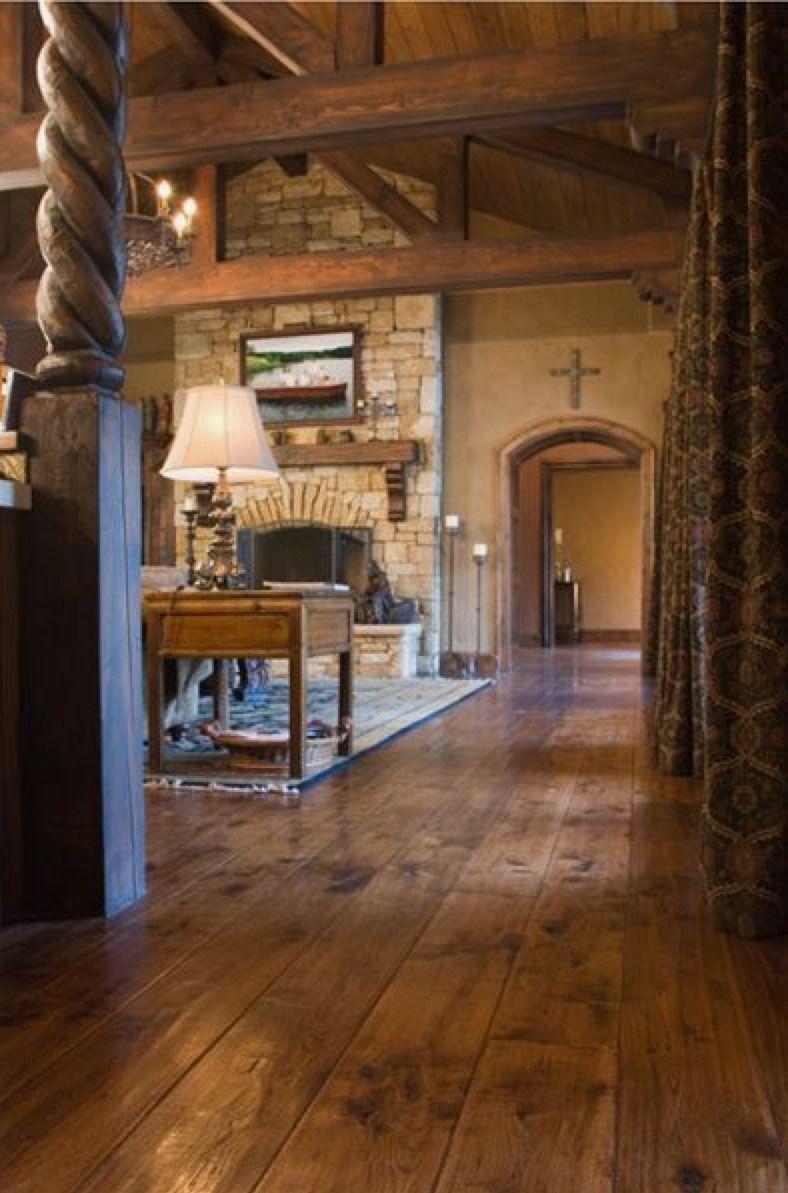 Floors... | Rustic wood floors, Engineered wood floors ...