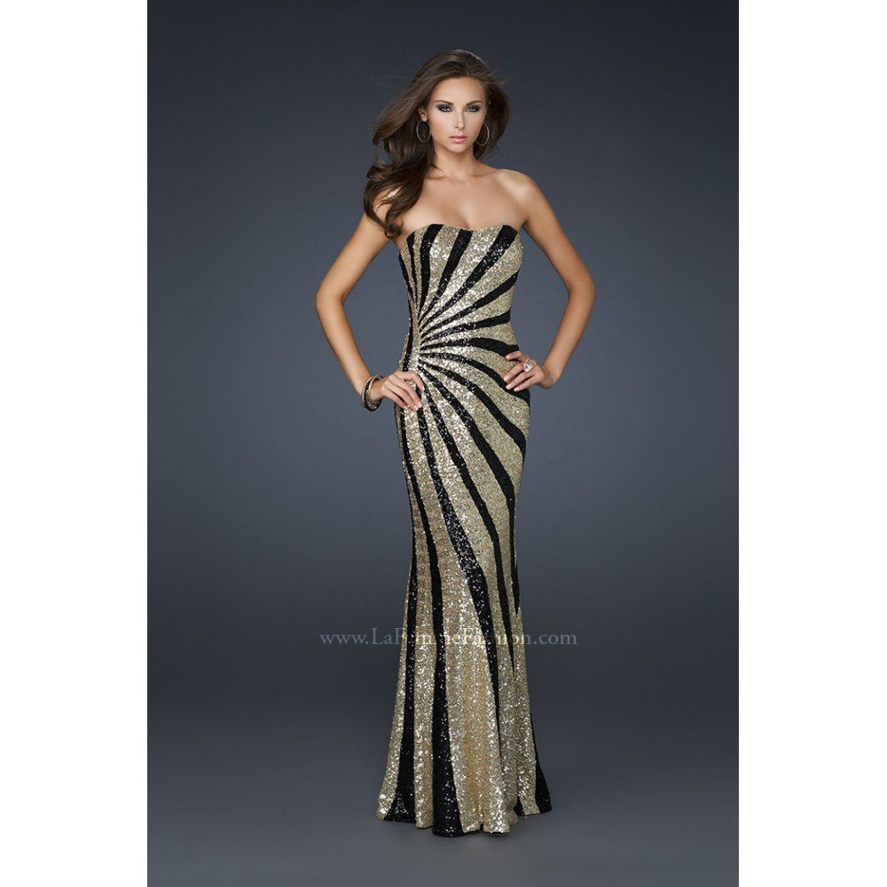 Gold and black dress uk