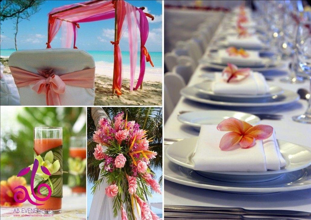 decoration mariage martinique