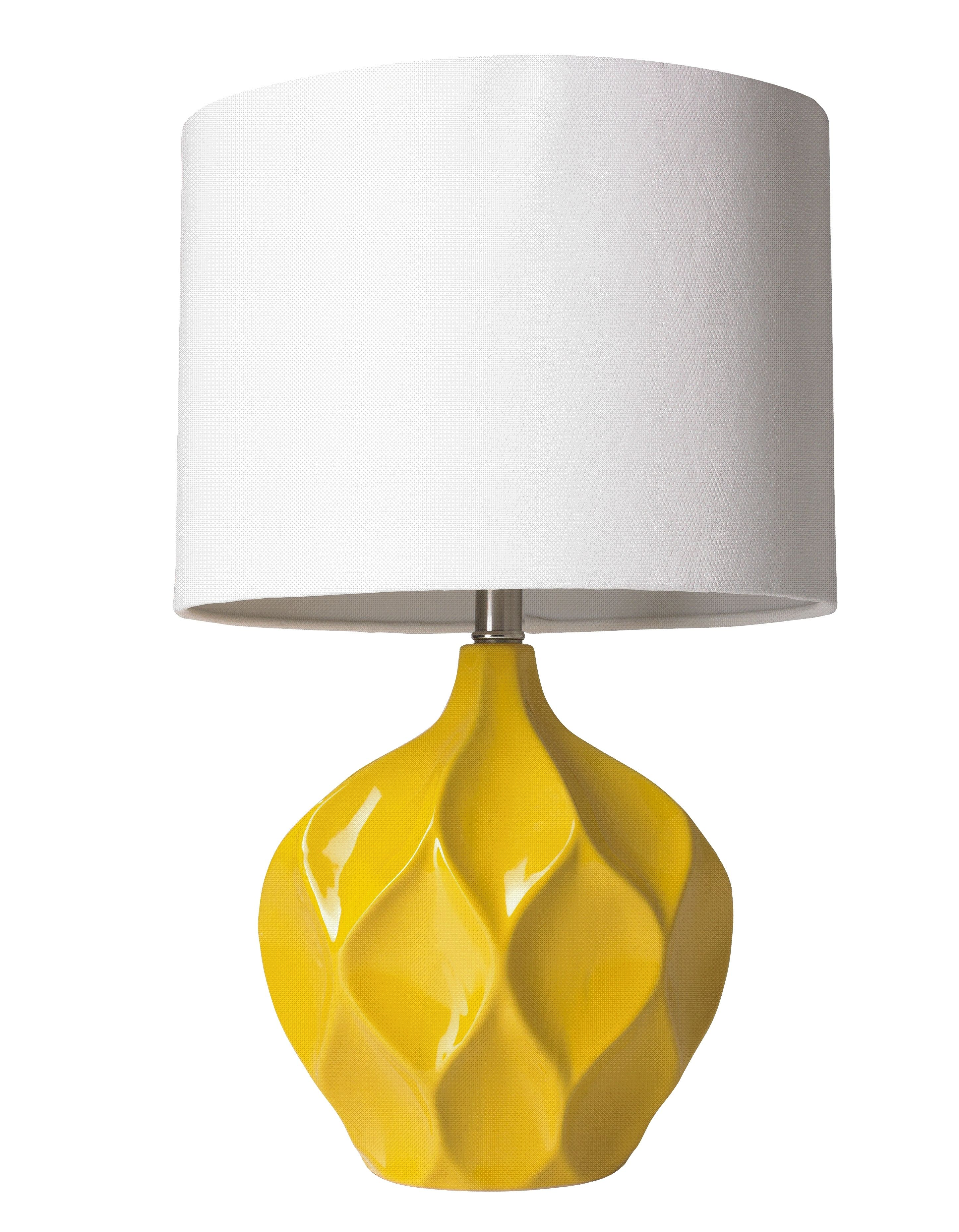 Even When This Lamp Is Turned Off It Brightens Up Your Space Yellow Lamp Eclectic Lamps Lamp