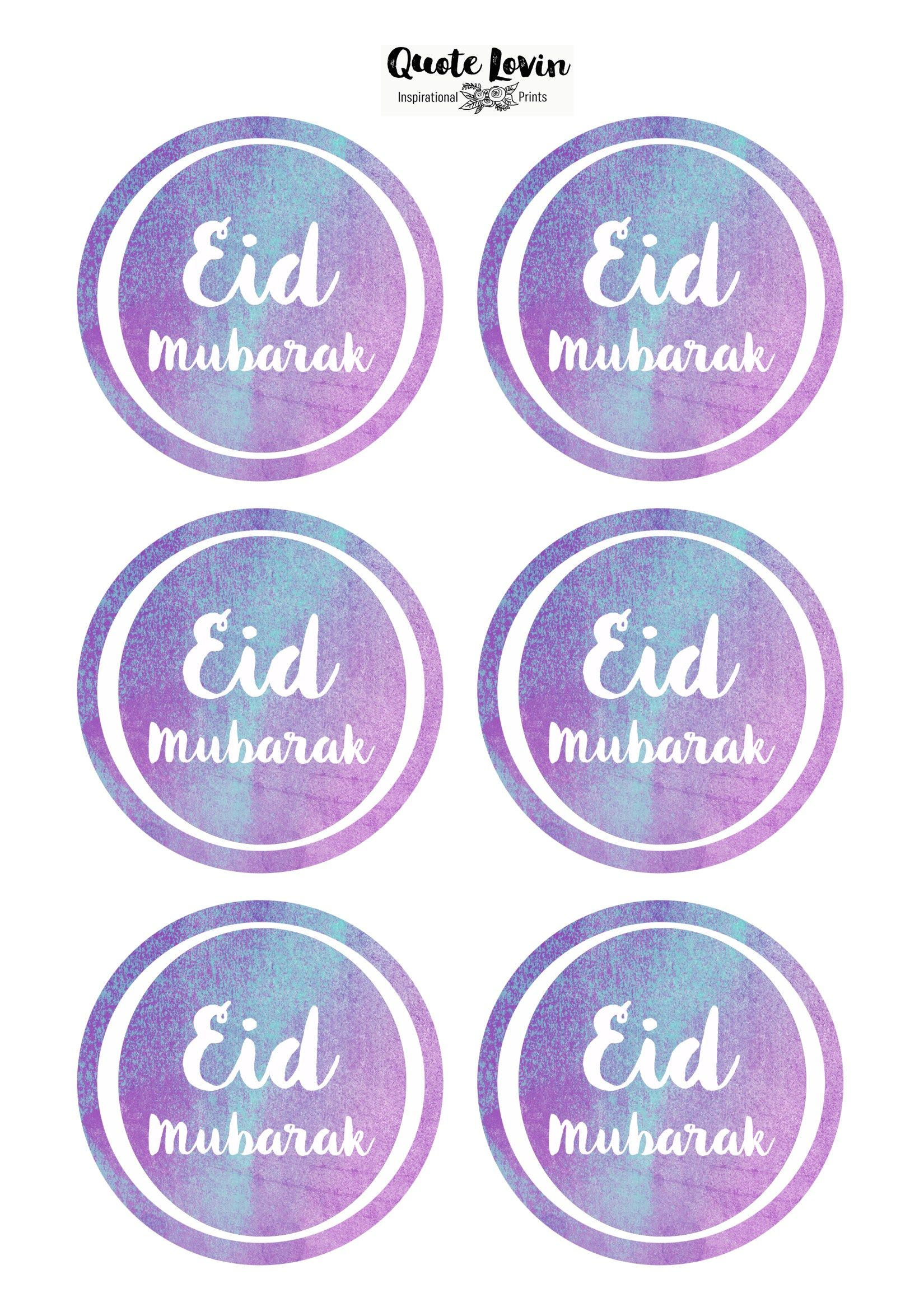 I love giving Eid presents but what I love even more is wrapping them up and making them look pretty.So, here are some Eid Mubarak tags to spruce up your packages. Don't forget to tag me if …