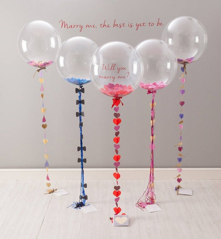 globos originales llenos de confeti | Party ideas decoration | Pinterest