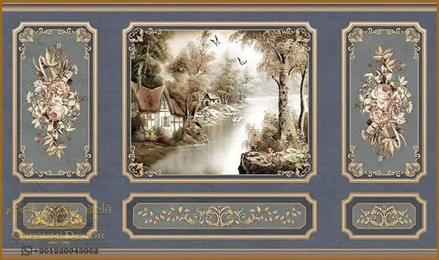 احدث الوان غرف نوم In 2021 Retro Wallpaper Flower Art Wallpaper