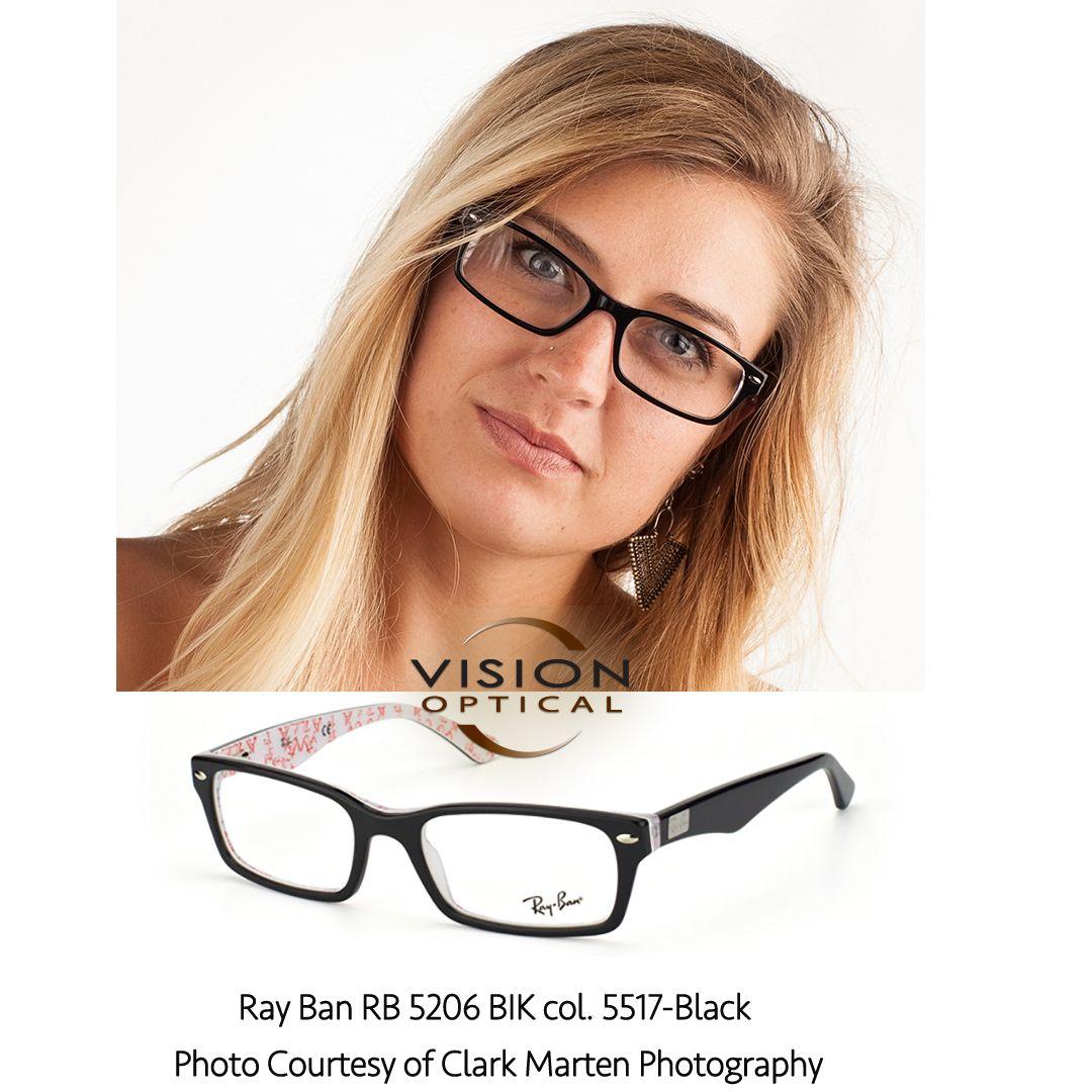 3e9d7669ac1 Ray Ban RB 5206 BIK col. 5517-Black Photo Courtesy of Clark Marten ...