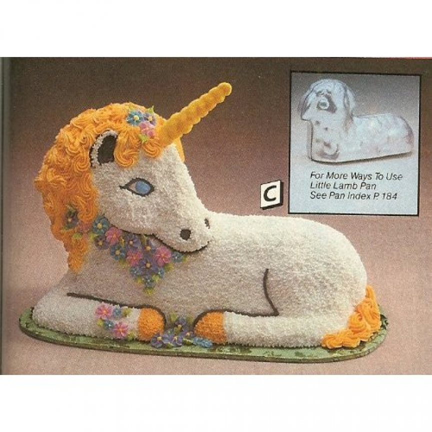 Unicorn Head Cake Pan