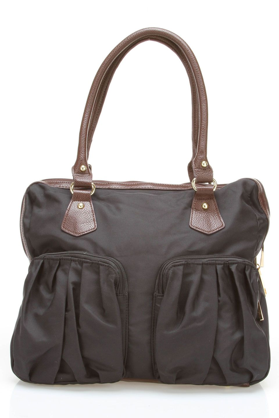 d5a8e3561233 Tiffany   Fred Shopping Tote Hobo In Black And Brown