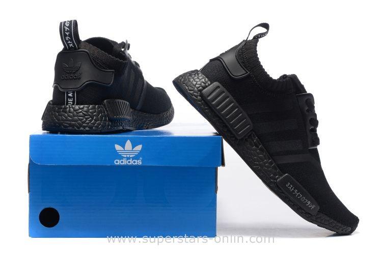 2016 Adidas Originals NMD Runner Primeknit Men Running Shoes all black