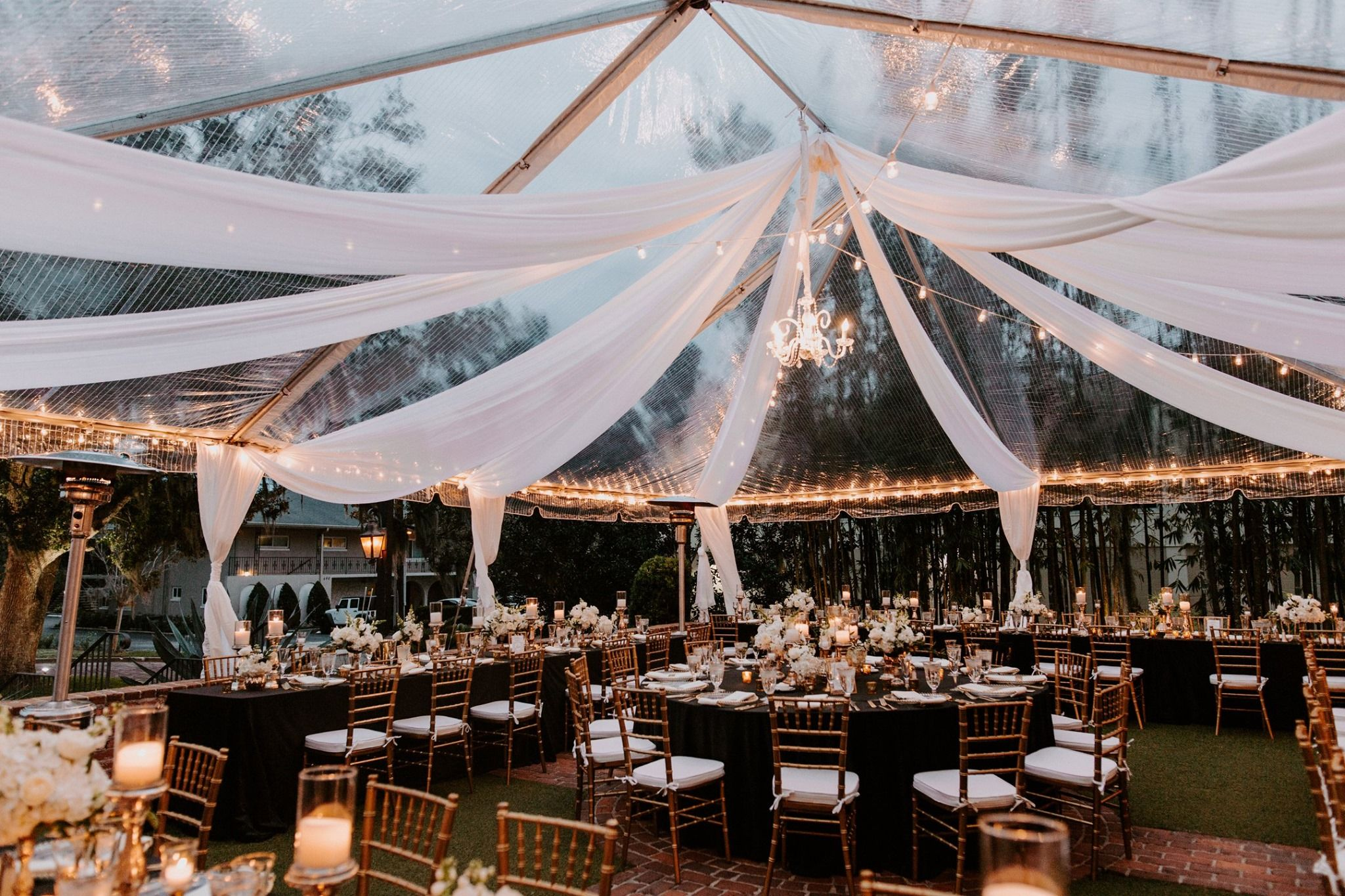 Clear Tents Orlando Wedding and Party Rentals Clear