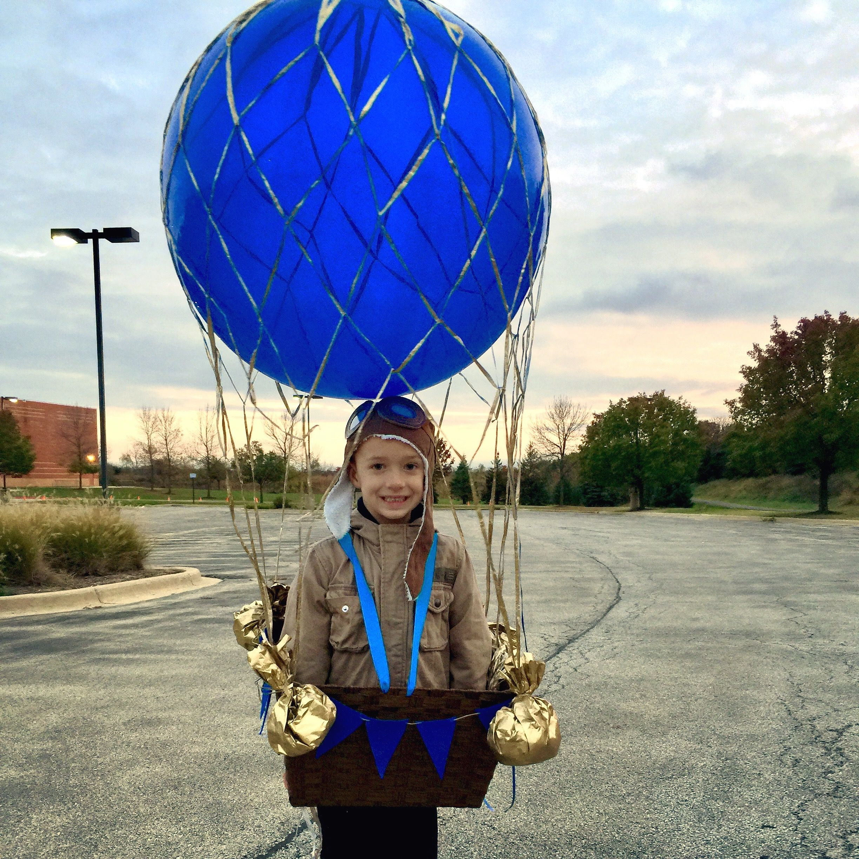 Hot air balloon costume. Costumes, Air balloon, Balloons