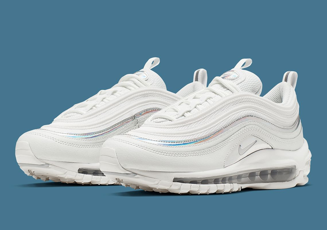 The Nike Air Max 97 Adds Iridescent Track Stripes Nike Air Max
