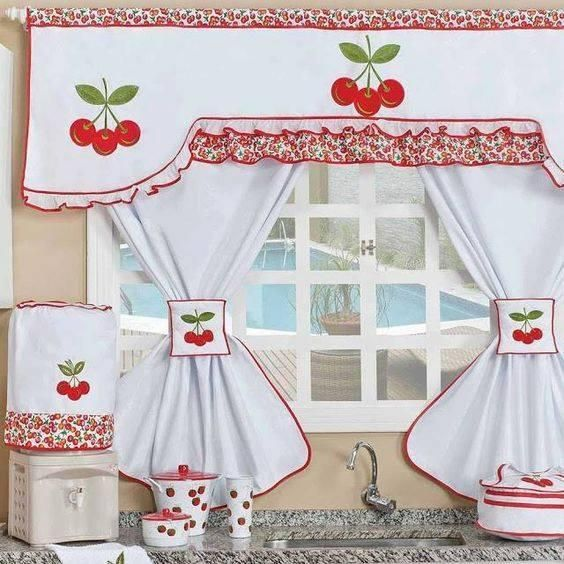 MODELOS DE CORTINAS PARA COCINAS | cortinas | Pinterest | Curtains ...