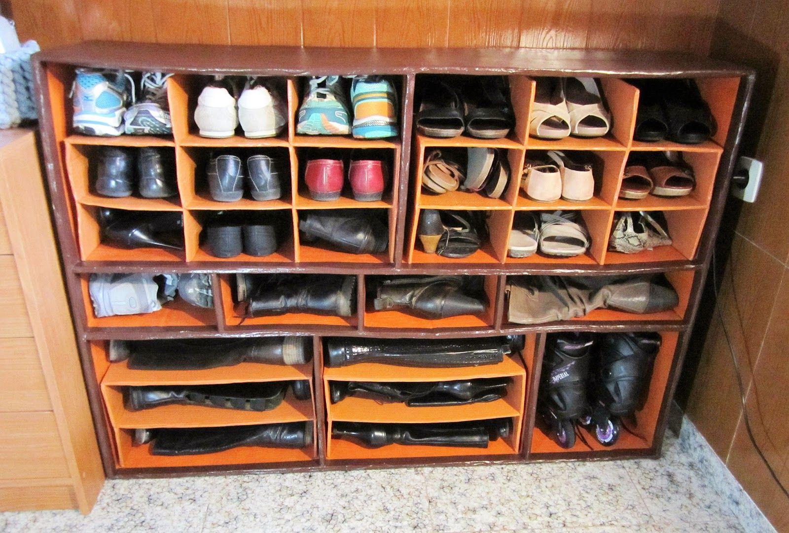 Resultado de imagen de mueble zapatero cretivo pinterest mueble zapatero muebles y - Como hacer un armario zapatero ...
