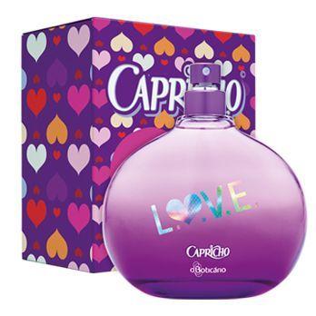 Capricho Love Desodorante Colonia R 54 99 Desodorante Perfume Para Cabelos Perfumes Femininos