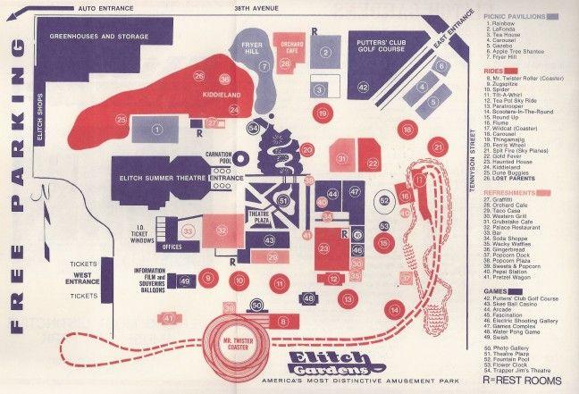 Elitch Gardens - Original Elitch Gardens - Shane's Amusement