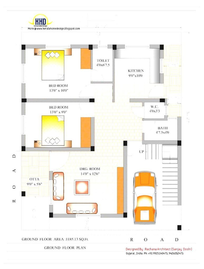 New gujarat home plans photo