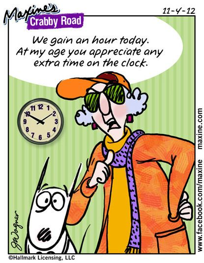 Did You Remember To Set Your Clocks Back One Hour For Daylight Savings Time!