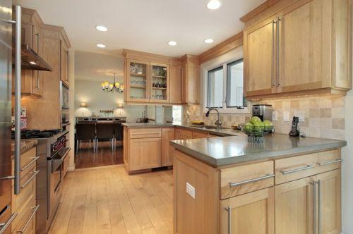 Bastelideen  alte Küchenschränke traditionell küche warm ambiente