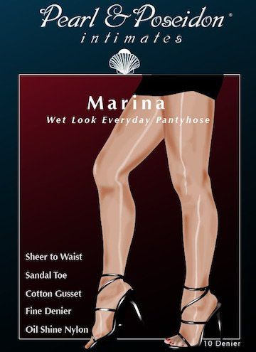 Shine dvd pantyhose