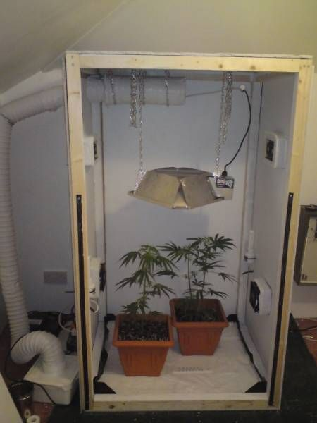 Diy Marijuana Grow Box I Like This System It Is An