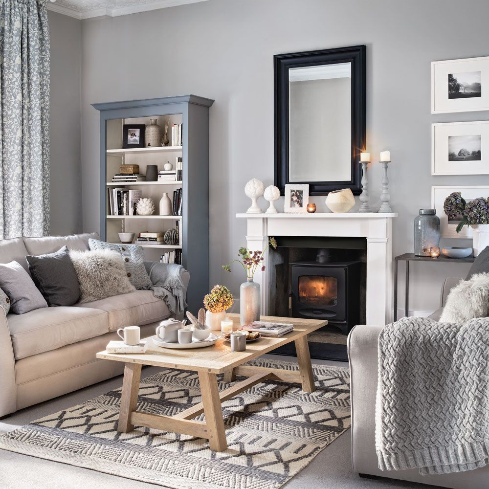 Delicieux Grey Living Room Ideas | Ideal Home