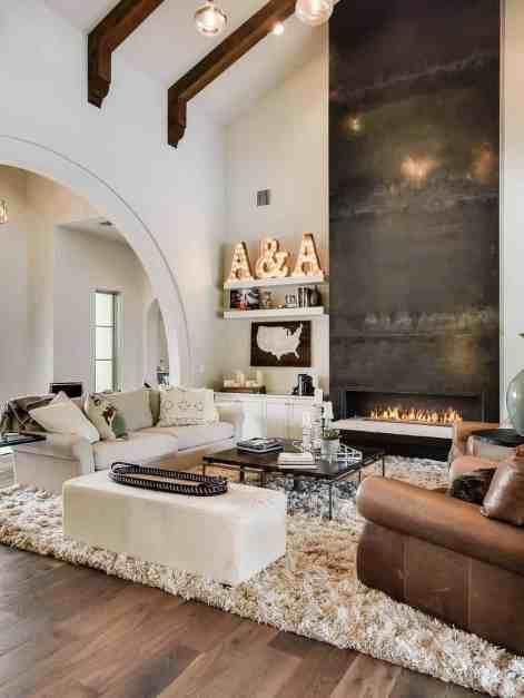 Photo of Mediterranean style home in Texas with clean-lined interior finishes