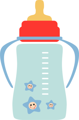 Cartoon Baby Bottle Illustration Bottle Baby Bottle Baby Supplies Illustration Png Transparent Clipart Image And Psd File For Free Download Baby Bottles Baby Cartoon Baby Illustration