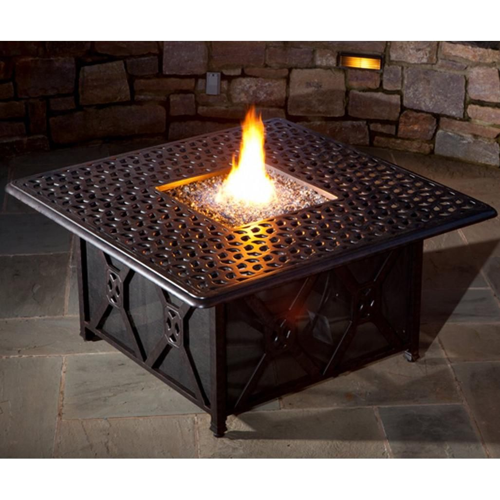 Beautiful DIY Propane Fire Pit Table