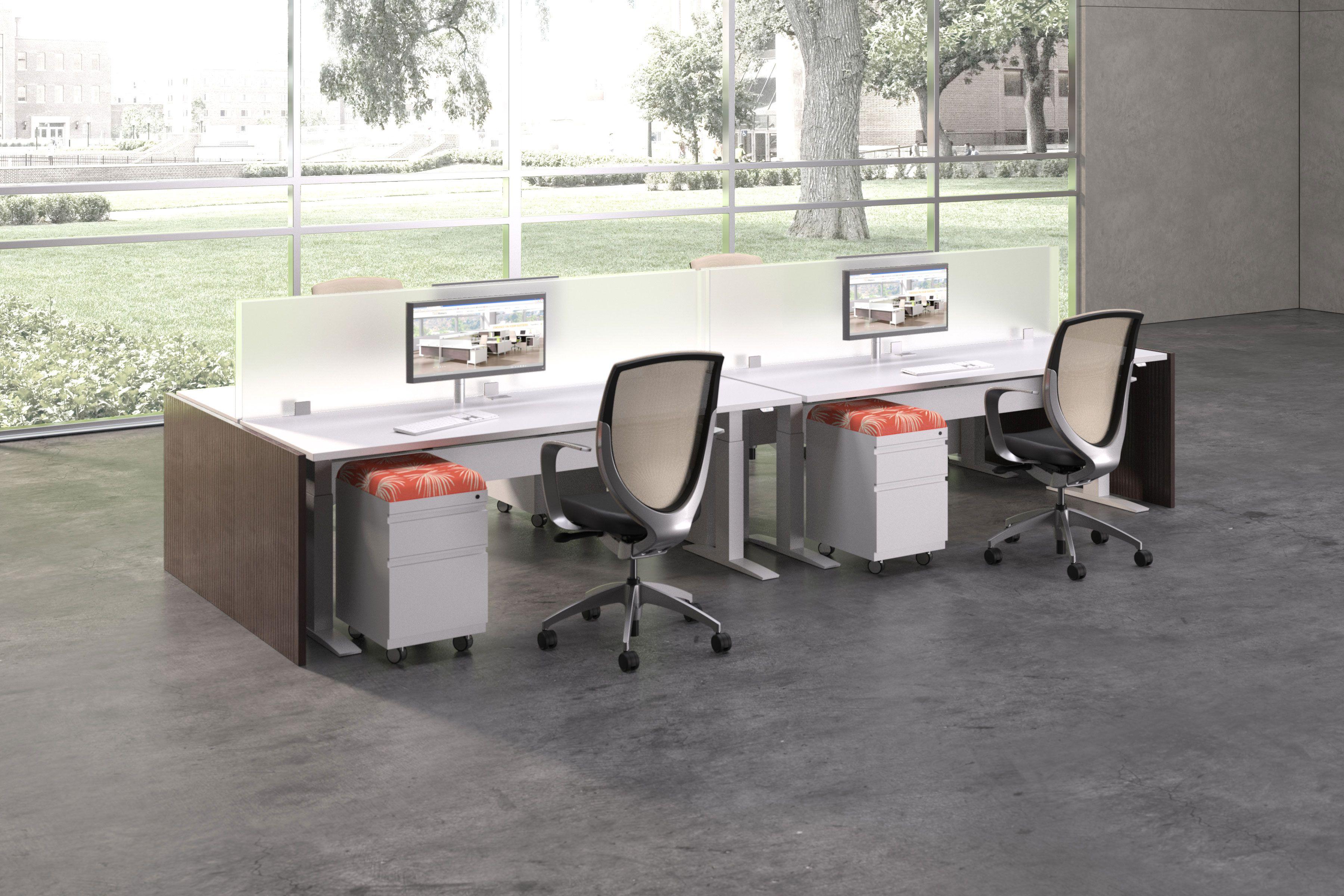 Brilliant Deskmakers Hover Industrial Office Building Desk Download Free Architecture Designs Scobabritishbridgeorg