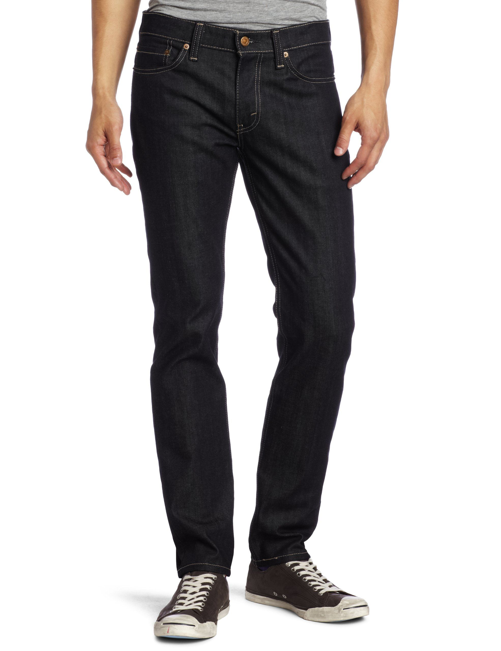 Levi's Men's Grey Jeans Slim 514 Straight Jeans ridig Buying This Holiday