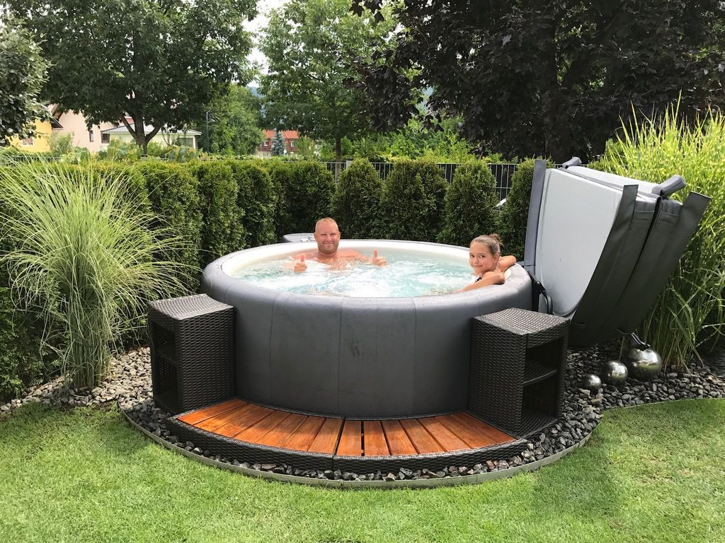 Softub Australia Your Specialist For Soft Spas In 2020 Jacuzzi Outdoor Hot Tub Outdoor Hot Tub Garden