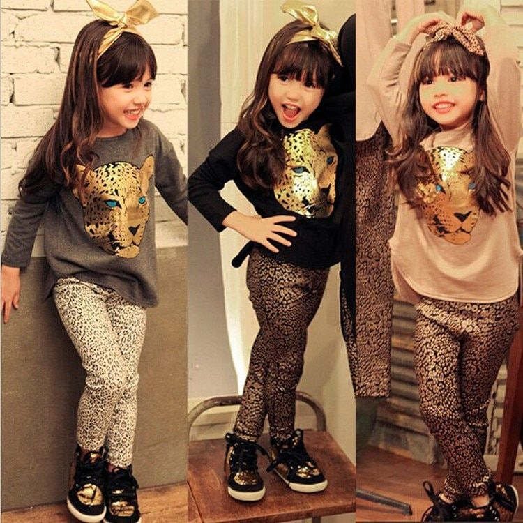 Girls Clothes Toddler Girls Clothing Sets Baby Girls Kids Clothes Children Clothing Full Sleeve T Shirt Leopard Legging Vestidos is part of Clothes Winter Kids - Girls Clothes Toddler Girls Clothing Sets Baby Girls Kids Clothes Children Clothing Full Sleeve T Shirt Leopard Legging Vestidos Also proudct description, specifications, price and reviews