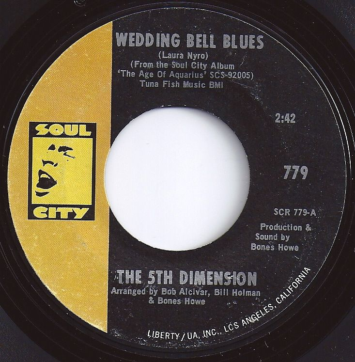 1 On Billboard Wedding Bell Blues 5th Dimension