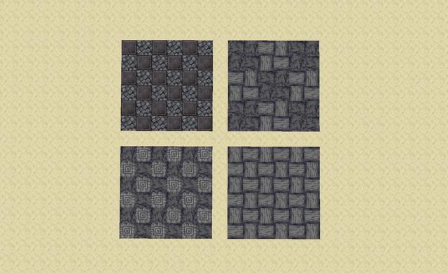 1 16 Basalt Netherite Floor Designs Detailcraft Minecraft Floor Designs Minecraft Designs Minecraft Decorations