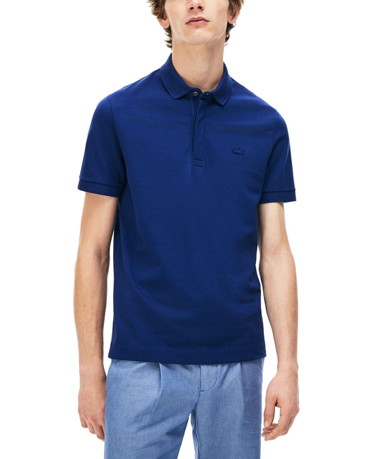 Lacoste Men S Regular Fit Stretch Cotton Paris Polo Shirt Reviews Polos Men Macy S In 2020