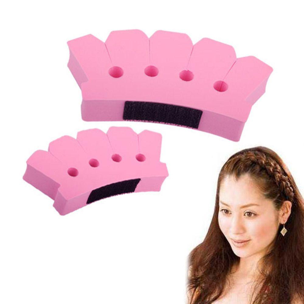 Schwamm Twist Geflecht Strickte Gerät Kopf Haar Flechter Werkzeuge Haar Styling Zubehör Halter Clip DIY Mode Frisur