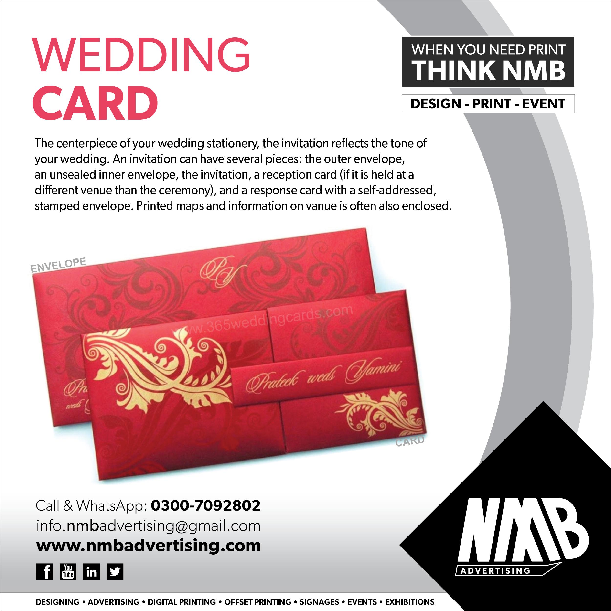 Wedding Card Digital Printing
