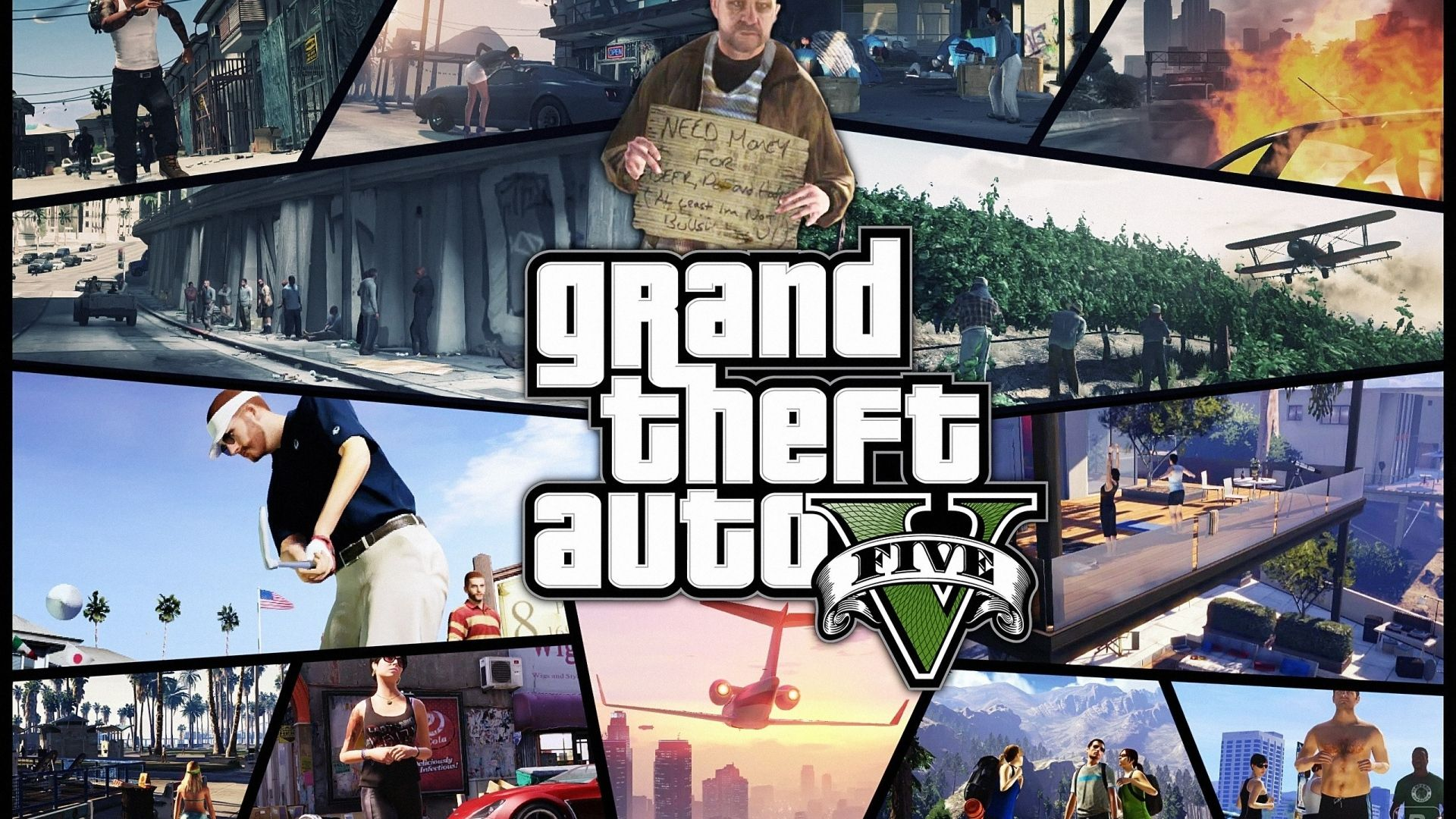 Download Wallpaper 1920x1080 Gta Grand Theft Auto 5 Photos Shots Game Full Hd 1080p Hd Background Grand Theft Auto San Andreas Game Gaming Wallpapers