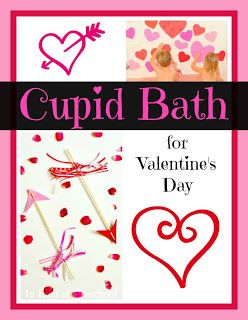 A Cupid Bath for Valentine's Day
